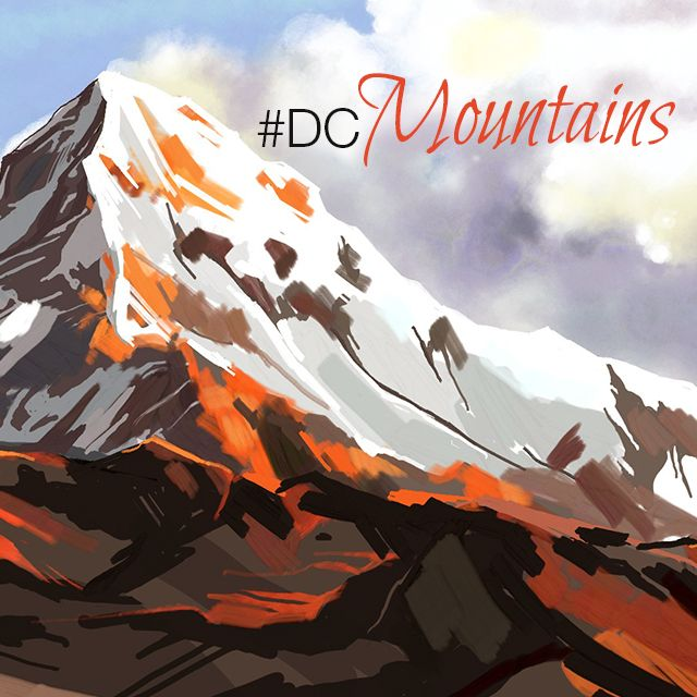 mountain drawing art competition