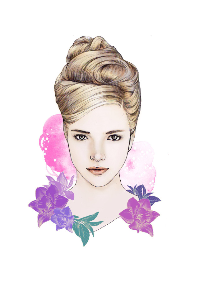 #illust #illustration #drawing #draw #pencil #pencilsketch #sketch #face #beauty #fashionillustration #art #artwork #warercolor
