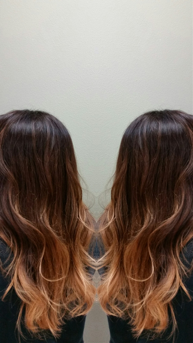 stunning ombre done by me. call or text for your next appointment