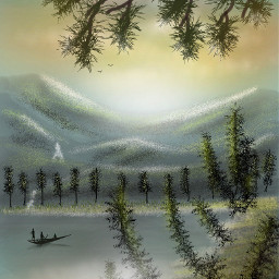 dcmountains drawing nature colorful