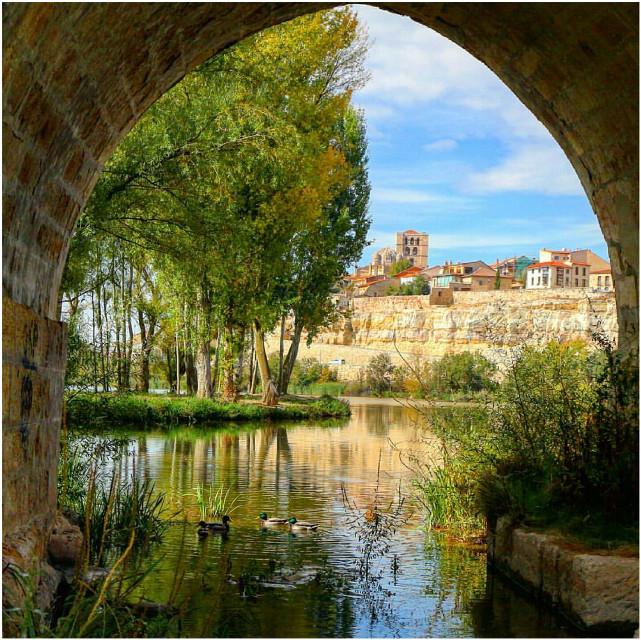 Zamora enamorada 💜💜💜 #cute #nice  #zamora  #españa  #castillayleon  #rio  #city  #nature  #ca #canon  #arquitectura