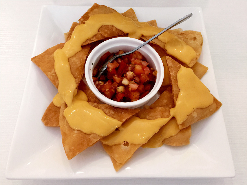 Cheese N salsa #chips #tomato #cheese #snacks #tasty #foods