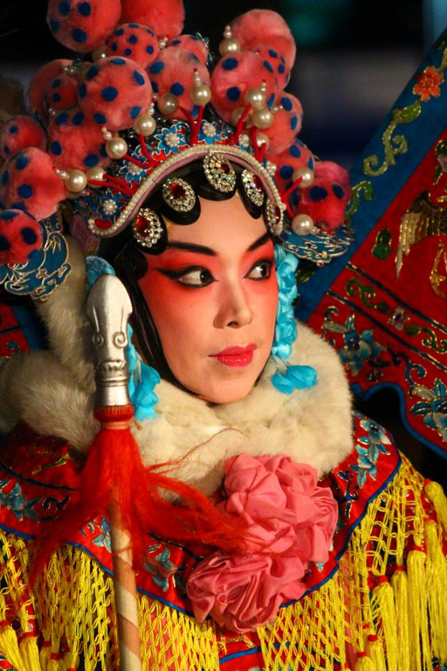 Chinatown festival,Busan,Republic of Korea Beijingopera.