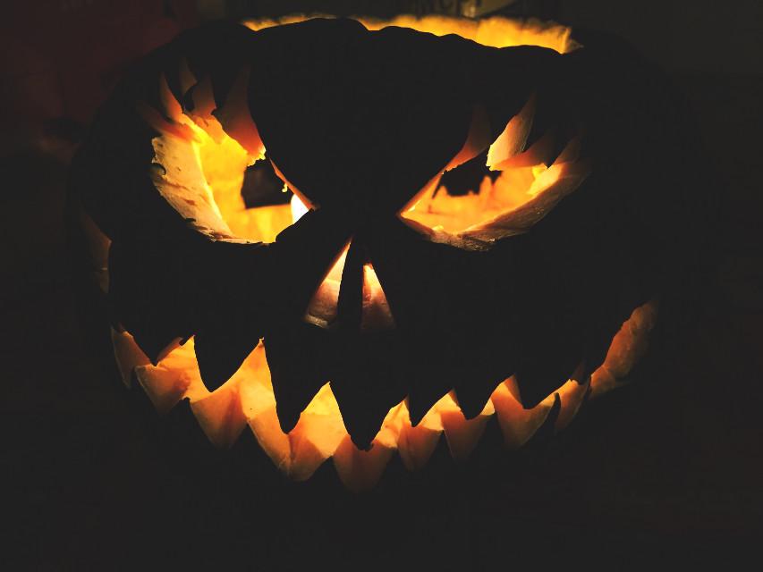 #halloween #pumpkin #evil #wapautumnvibes