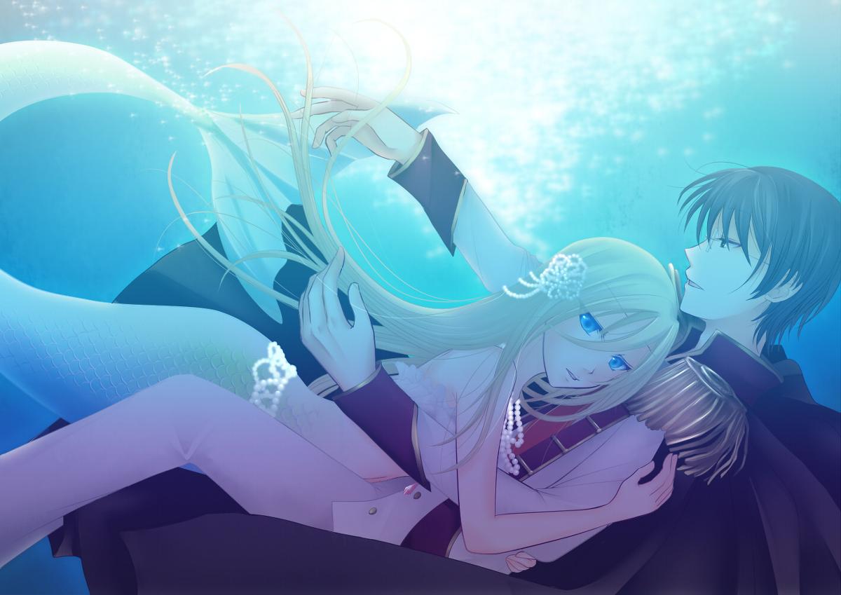 Vocaloidmermaidlovegirlboyanime Image by Anime