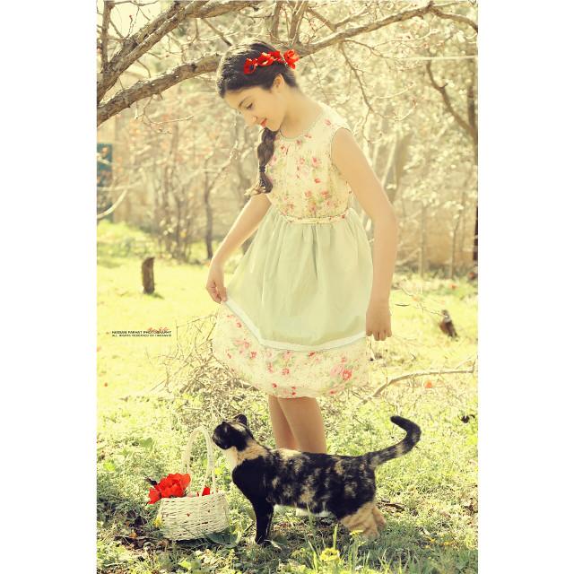 Malouka my princess #cute #love #nature #music #photography
