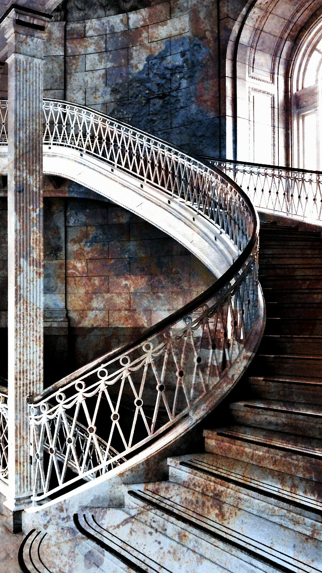 Re-edited for FTErust but never went though #stairs #architecture #PopularPhoto