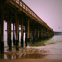 lomoeffect pier beach ca