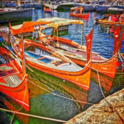 boats travel colorsplash sea art
