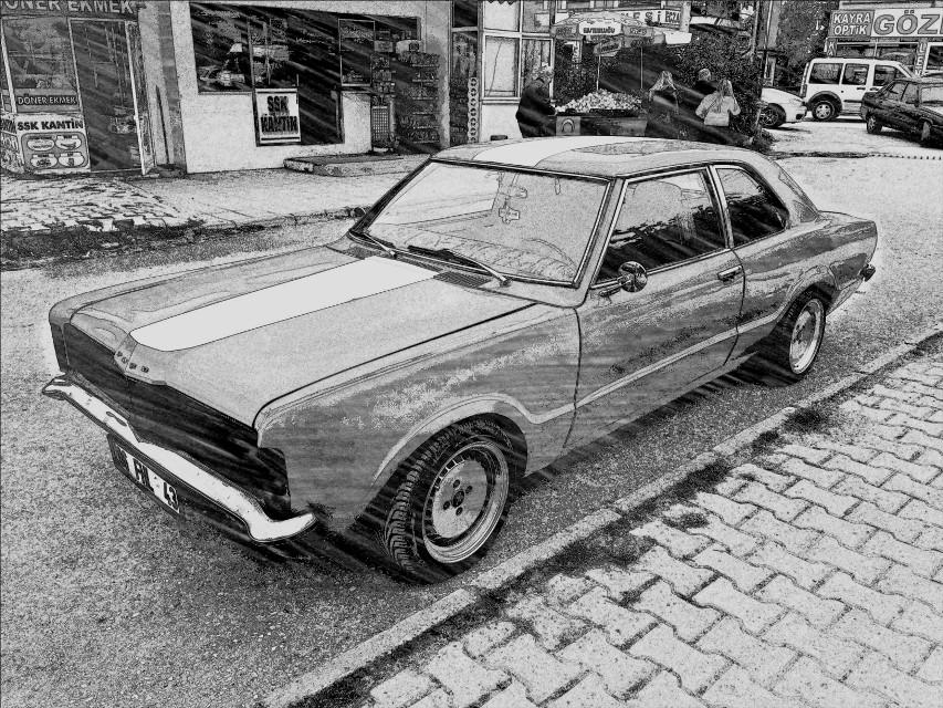 #wapsketch #fordmustang #sketch #interesting #art #november #nature #black&white #blackandwhite #cars #musclecar #1967