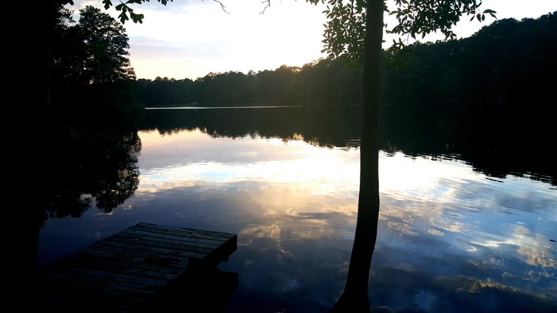 Lake Dayz #nature #sunset