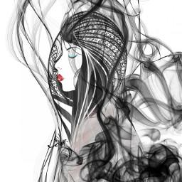 ftesmoke artistic drawing fantasy clipart