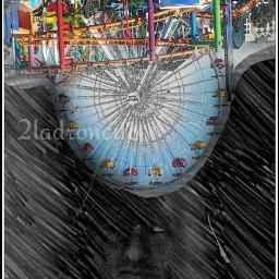 upsidedown photography skecher blended selfy