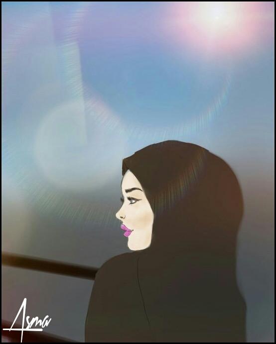 #nature #people #colorsplash #colorful #drawing #digitalart #hijab #remixit #freetoedit