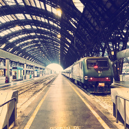 italy milan travel train europe