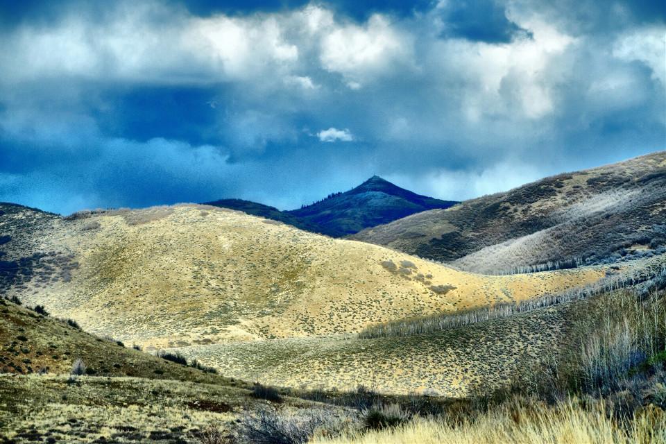 Snow clouds #landscape#freetoedit #landscape