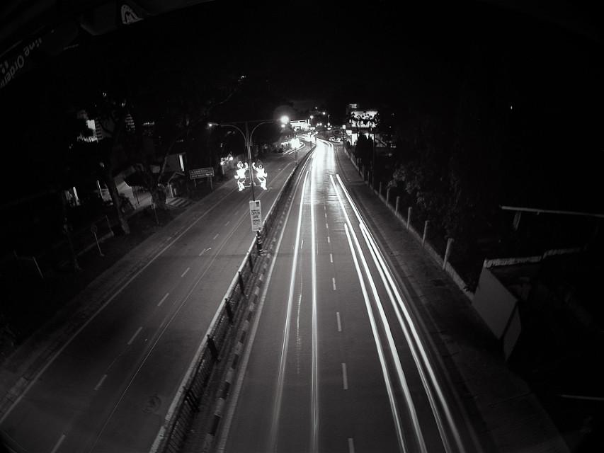 #Long exposure by YI cam