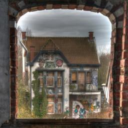photography village ruin abandoned travel