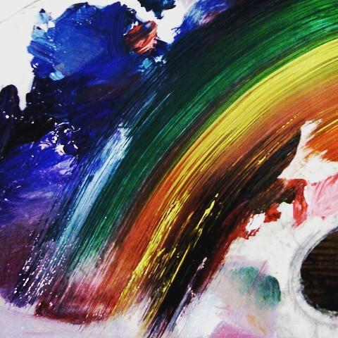 my art. #colorful   #love  #art