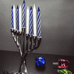 freetoedit photography holiday candle menorah