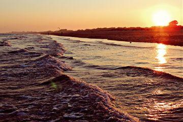 beach emotions music sunset sun