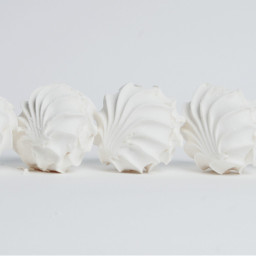 white photography seafoam sweets