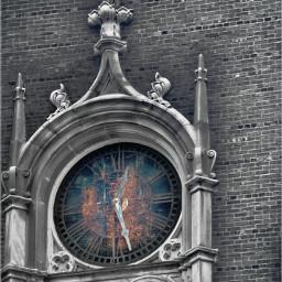 vintage clock retro time weathered