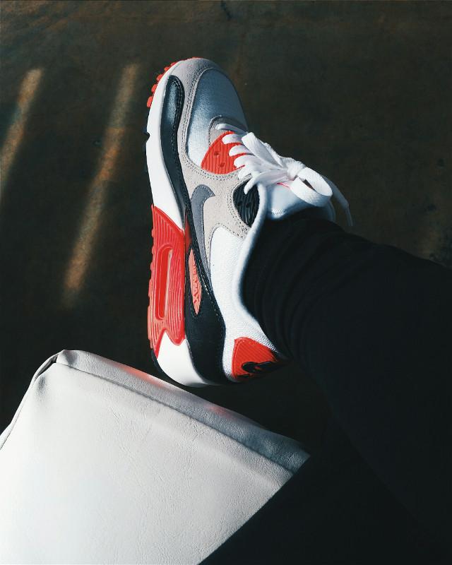 I #love my new #shoes #nike air max 90's #photography #retro #fashion #justdoit #kicks #sneakers