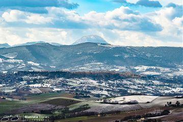 ipaesaggidellemarche neve paesaggio panorama belvedere