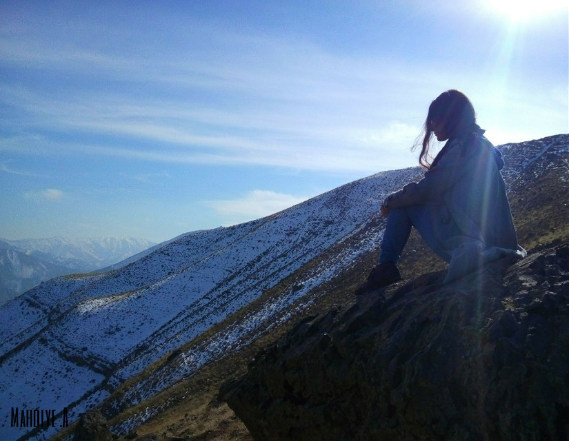Winter photography #mountains #snow #winter #landscape #freetoedit #colorful #emotions #photography #people #mysister