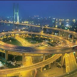 bridge photography china lights