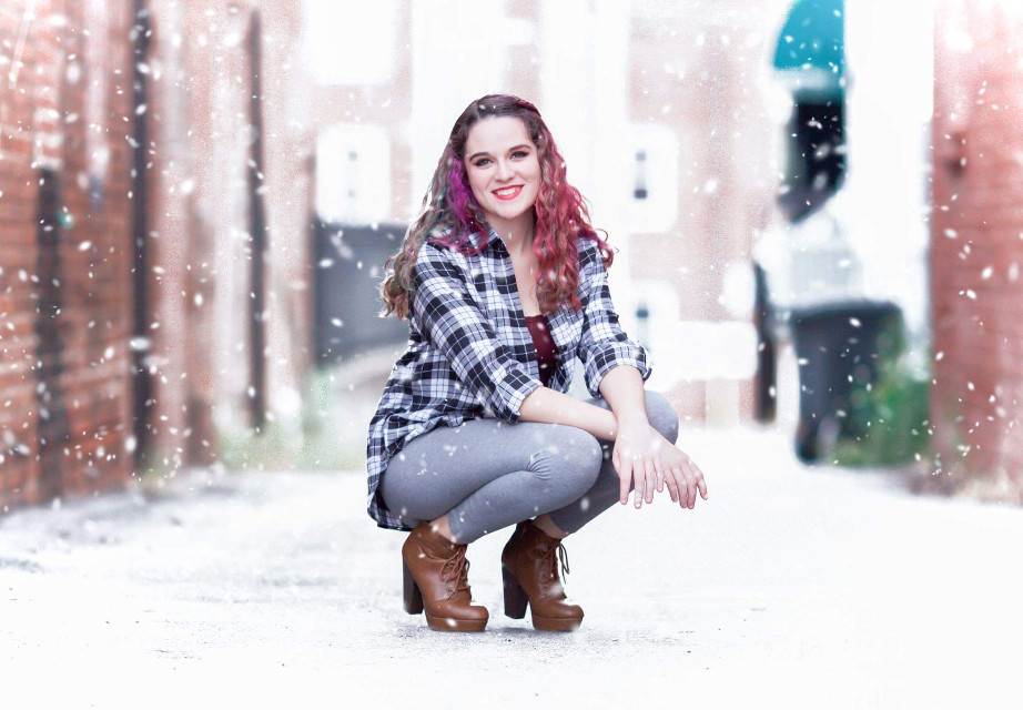 #colorful #photography #people #snow  #wpphappy