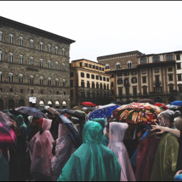 crowds chaos dailyinspiration umbrella people