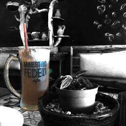 coffee hdr blackandwhite