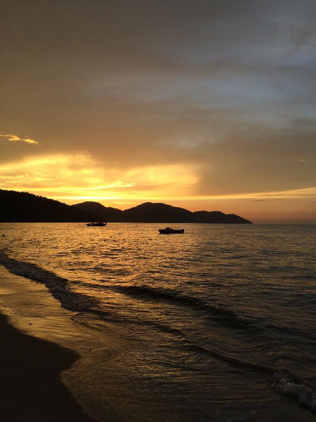 #sunset #penang #batu ferringhy