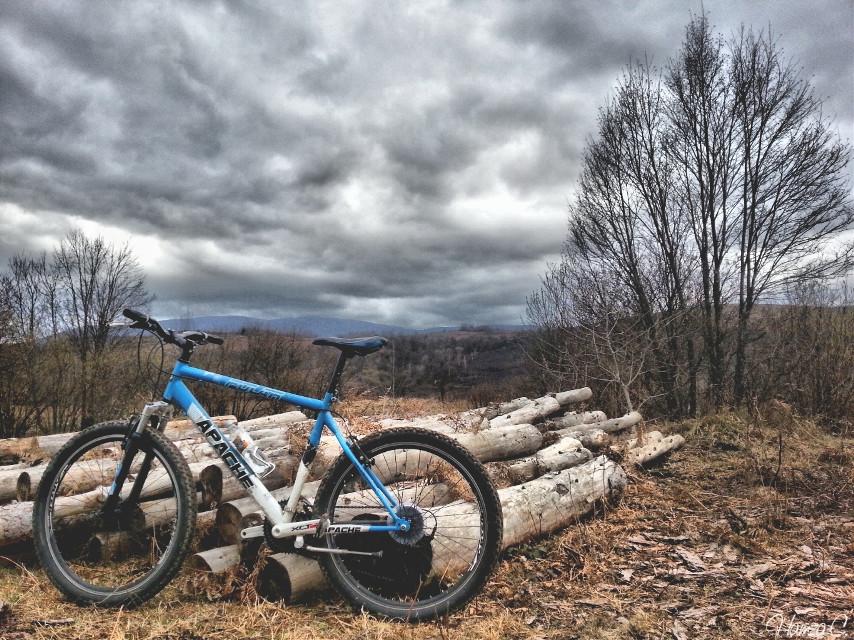 My bae <3 #mountainbiking #nature #enjoyinglife #love #freetoedit #photography