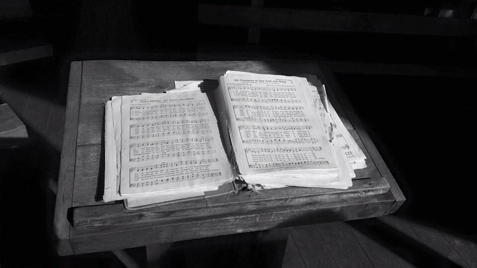 #hymnal #chapel #blackandwhite