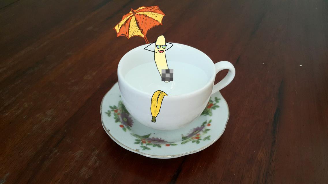 #cup  #banana  #summer