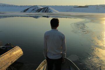 freetoedit portrait lake frozen