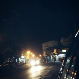 photography cars night
