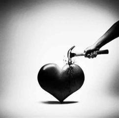 hearts blackandwhite freetoedit