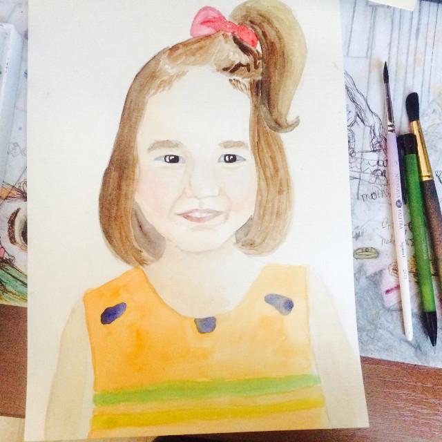 #art #picture #littlegirl