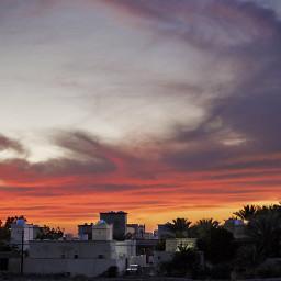 sunset home omanpics noor_omani95 omani_tag
