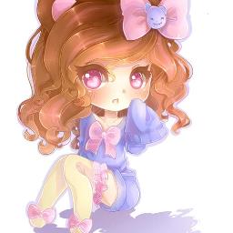 anime chibi adorible cute colorful