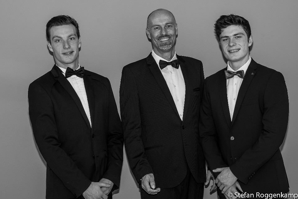 me and my sons :-) #people #blackandwhite