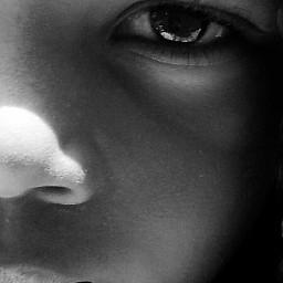 face kid photography people blackandwhite