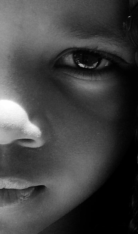 #Face  #kid #photography #people  #blackandwhite  #lovely