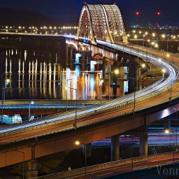 bridge southkorea coldnight banghwa darknigth