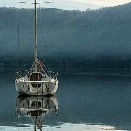 nature tranquillity lake
