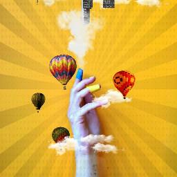 ftereach balloon colorful freetoedit holga